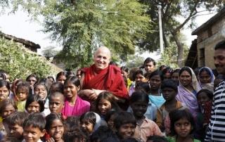 Shechen Mobile Clinic. Visit of JP Nagar village, 29 December, 2010.
