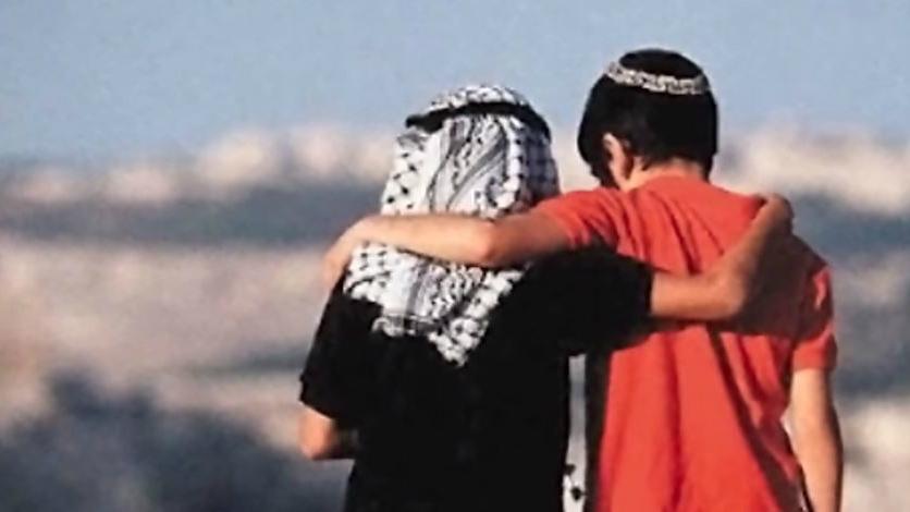 jew muslim hug