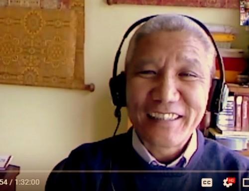 Educación en la compasión para el siglo XXI: Una conversación con Thupten Jinpa y Margaret Cullen [vídeo]