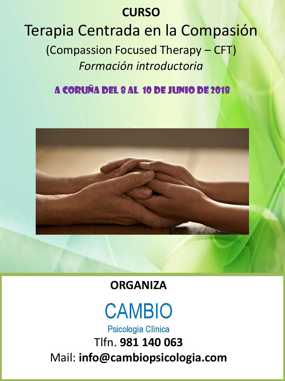 A Coruña - Terapia Centrada en la Compasión (CFT) - Módulo Introductorio @ Hotel Ibis Style