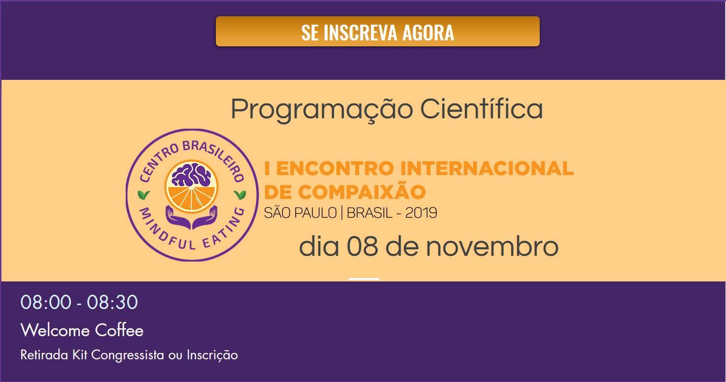 Sao Paulo - Brasil - 1er Congreso de Compasión @ Centro Universitário SENAC - Santo Amaro