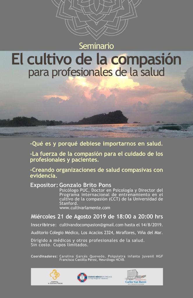 Viña del Mar - Colegio Médico - Conferencia Compasión en Salud @ Colegio Médico Valparaíso