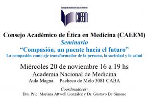 Buenos Aires- Academia Nacional de Medicina - Conferencia
