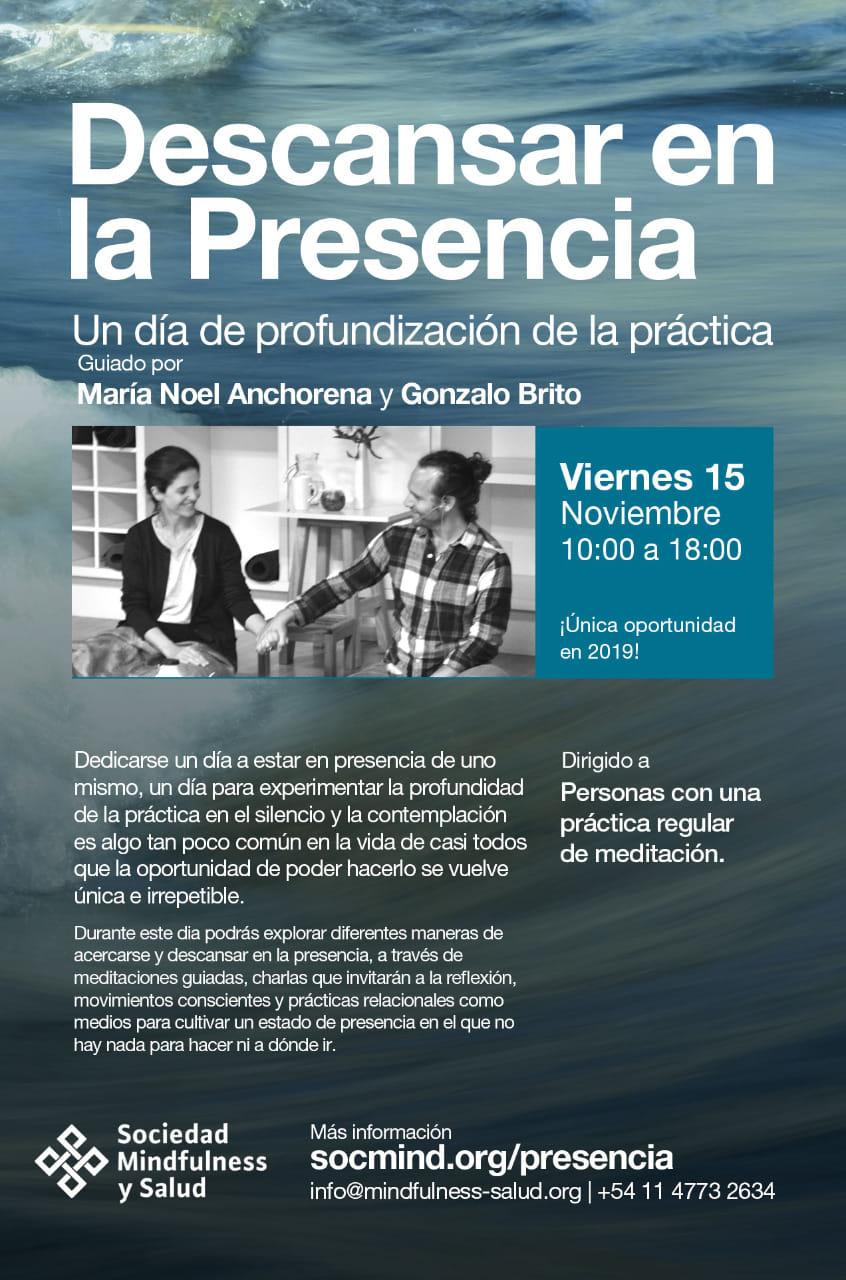 Buenos Aires - Descansar en la Presencia 2019