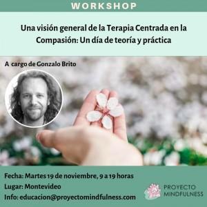Montevideo - Workshop Intro a CFT (Terapia Centrada en la Compasión)