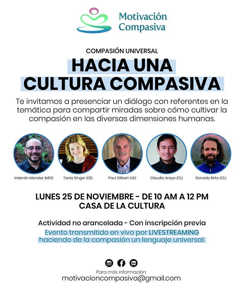 Buenos Aires - Hacia una Cultura Compasiva @ Casa de la Cultura Buenos Aires
