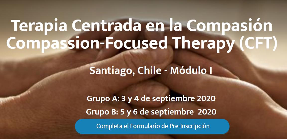 Chile: CFT-I (Terapia Centrada En la Compasión - Módulo Introductorio) @ Espacio Crea ú Online (según situación sanitaria)